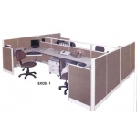 Partisi kantor Arkadia Model Excel Series