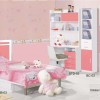 Rose – Kamar set anak type ALEXANDRA