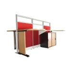 UNO – Partisi Premium Series Workstation-2