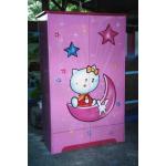 Duco – Lemari Pakaian 2 Pintu Hello Kitty