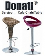 DONATI BARSTOOL CAFE CHAIR TABLE Resto/ Bar/ Cafe set
