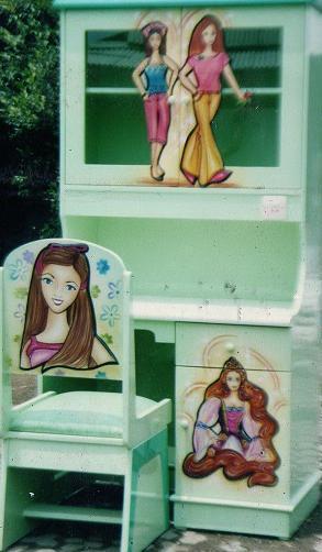 Duco Meja Belajar Anak Barbie Duco   Meja Belajar Anak Barbie