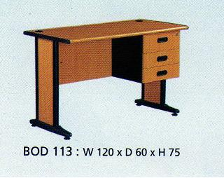 Indachi Best Series Meja Kantor & Laci type BOD 113