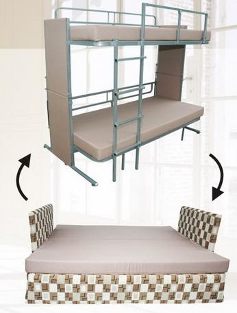 Betafoam - Multi Function Bunk Bed type BRS-180 DB