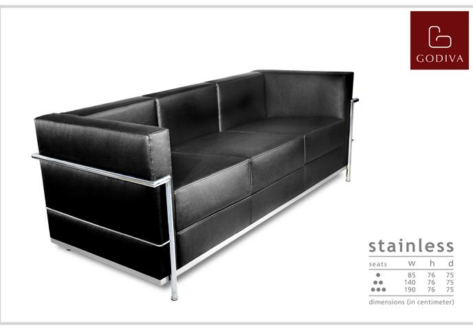 Godiva - Sofa type STAINLESS