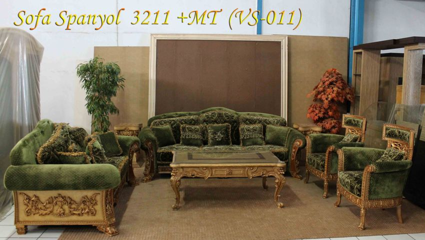 Sofa Spanyol 3.2.1.1 seater  MT  MS