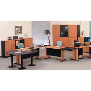 Uno – Meja Kantor Gold Series Warna Cherry-3
