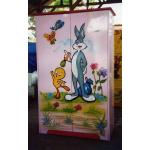 Duco – Lemari Pakaian 2 Pintu Bunny Pink