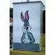 Duco – Lemari Pakaian 2 Pintu Bunny White