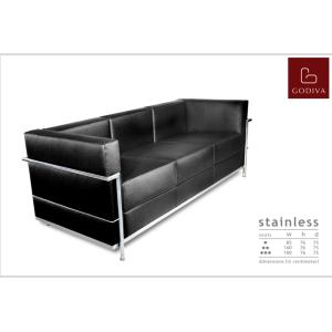 Godiva – Sofa type STAINLESS