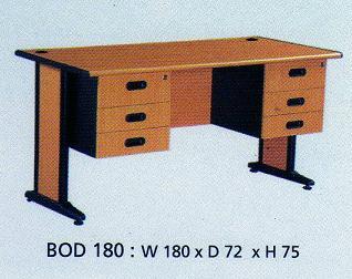 Indachi Best Series  Meja 1 biro & Laci type BOD 180