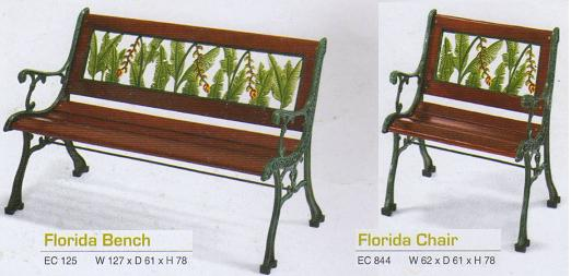 Imax - Bench Chair type ELEGANCE FLORIDA